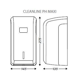 papier toilette cleanline maxi