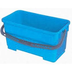 Seau laveur de vitre 22 litres bleu