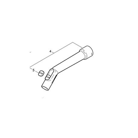Coude aspirateur Cleanfix