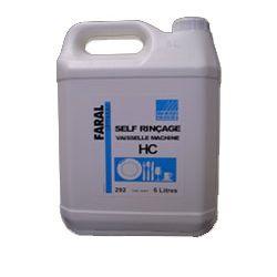 Liquide rincçage vaisselle anti calcaire eau dure