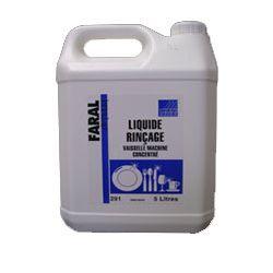 Liquide rinçage vaisselle machine eau douce / mi dure