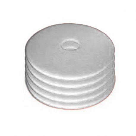 Disques blanc monobrosse - autolaveuse D 406