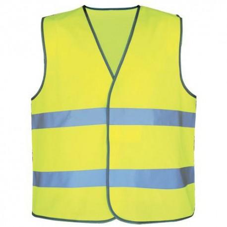 Gillet jaune de sécurité