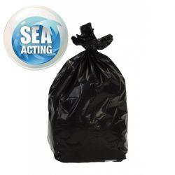 Sacs poubelle 170L litres BD 43µ noir x100