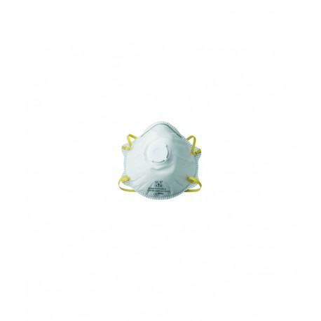 Masque protection respiratoire FFP1 coque avec valve X10