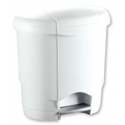 Poubelle pédale lolly 12 litres