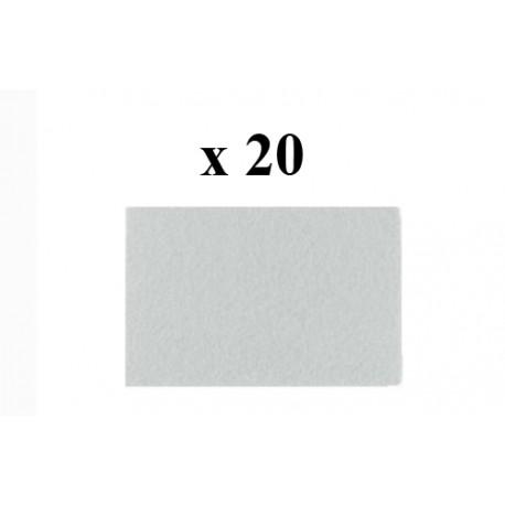 Tampon Blanc 3M