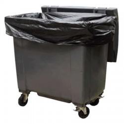 Housse conteneur 1100 litres 20µ x100