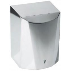 Sèche mains air pulsé acier Gris Brillant