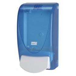 Distributeur de savon DEB Translucide Bleu