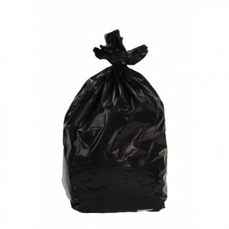 Sacs poubelle 100L litres BD noir 35 microns