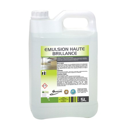 Emulsion haute brillance