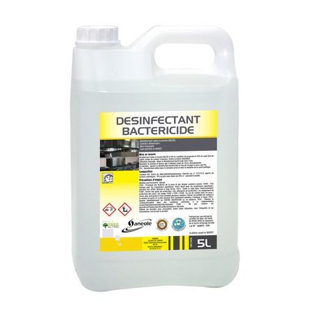 Désinfectant bactéricide