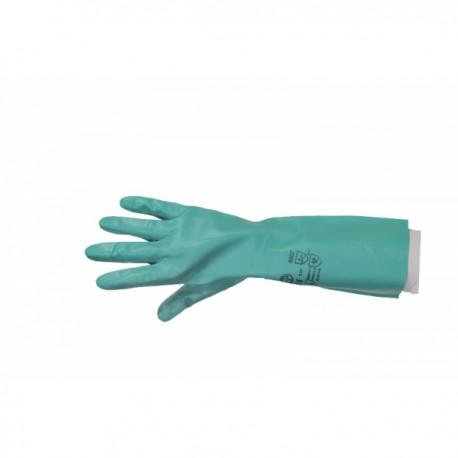 Gant de ménage nitril vert