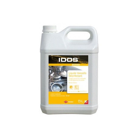 IDOS 2000 Liquide vaisselle plonge désinfectant